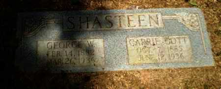 SHASTEEN, GEORGE W - Craighead County, Arkansas | GEORGE W SHASTEEN - Arkansas Gravestone Photos