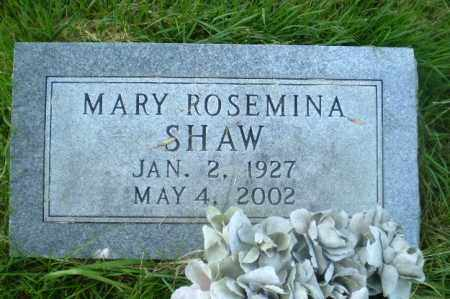 SHAW, MARY ROSEMINA - Craighead County, Arkansas | MARY ROSEMINA SHAW - Arkansas Gravestone Photos