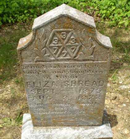 SHREAD, ELIZA - Craighead County, Arkansas | ELIZA SHREAD - Arkansas Gravestone Photos