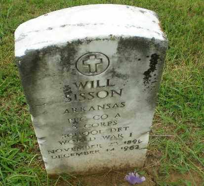 SISSON  (VETERAN WWI), WILL - Craighead County, Arkansas | WILL SISSON  (VETERAN WWI) - Arkansas Gravestone Photos