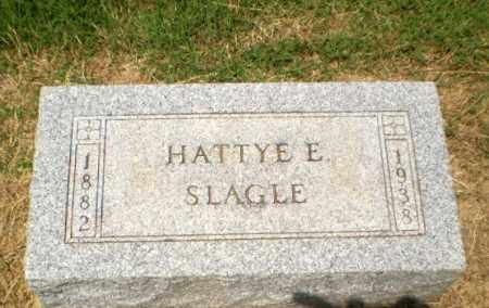 SLAGLE, HATTYE E - Craighead County, Arkansas | HATTYE E SLAGLE - Arkansas Gravestone Photos