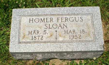 SLOAN, HOMER FERGUS - Craighead County, Arkansas | HOMER FERGUS SLOAN - Arkansas Gravestone Photos