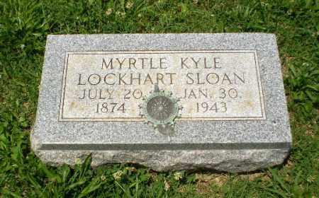 LOCKHART SLOAN, MYRTLE KYLE - Craighead County, Arkansas | MYRTLE KYLE LOCKHART SLOAN - Arkansas Gravestone Photos