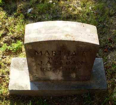 SLOAN, MARTHA E - Craighead County, Arkansas | MARTHA E SLOAN - Arkansas Gravestone Photos