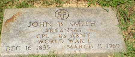 SMITH  (VETERAN WWI), JOHN B - Craighead County, Arkansas | JOHN B SMITH  (VETERAN WWI) - Arkansas Gravestone Photos