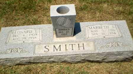 SMITH, LEONARD L - Craighead County, Arkansas | LEONARD L SMITH - Arkansas Gravestone Photos