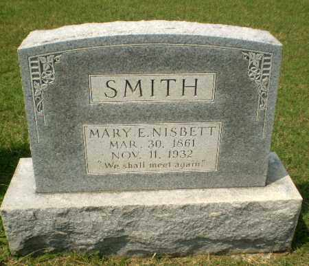 NISBETT SMITH, MARY E - Craighead County, Arkansas | MARY E NISBETT SMITH - Arkansas Gravestone Photos