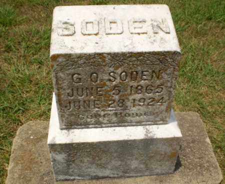 SODEN, G.O. - Craighead County, Arkansas | G.O. SODEN - Arkansas Gravestone Photos