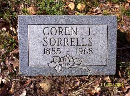 SORRELLS, COREN  T. - Craighead County, Arkansas | COREN  T. SORRELLS - Arkansas Gravestone Photos