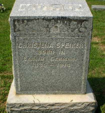 SPEIRER, CHRISTENA - Craighead County, Arkansas | CHRISTENA SPEIRER - Arkansas Gravestone Photos