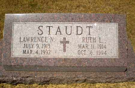 STAUDT, LAWRENCE N - Craighead County, Arkansas | LAWRENCE N STAUDT - Arkansas Gravestone Photos