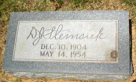 STEINSIEK, D.J. - Craighead County, Arkansas | D.J. STEINSIEK - Arkansas Gravestone Photos