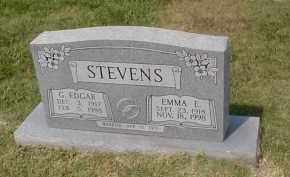 STEVENS, G. EDGAR - Craighead County, Arkansas | G. EDGAR STEVENS - Arkansas Gravestone Photos