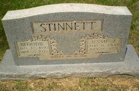 STINNETT, JESSIE E - Craighead County, Arkansas | JESSIE E STINNETT - Arkansas Gravestone Photos