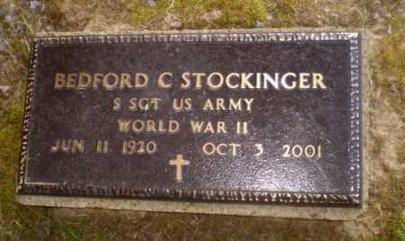 STOCKINGER  (VETERAN WWII), BEDFORD C - Craighead County, Arkansas | BEDFORD C STOCKINGER  (VETERAN WWII) - Arkansas Gravestone Photos