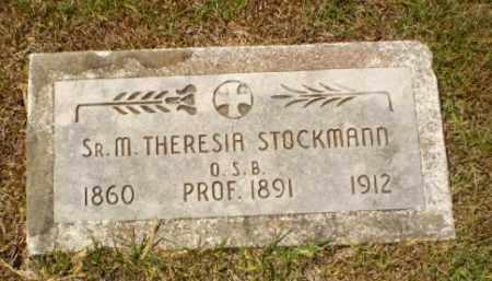 STOCKMANN, SISTER M. THERESIA - Craighead County, Arkansas | SISTER M. THERESIA STOCKMANN - Arkansas Gravestone Photos