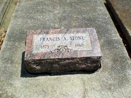 STONE, FRANCIS A - Craighead County, Arkansas | FRANCIS A STONE - Arkansas Gravestone Photos