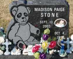 STONE, MADISON PAIGE - Craighead County, Arkansas | MADISON PAIGE STONE - Arkansas Gravestone Photos