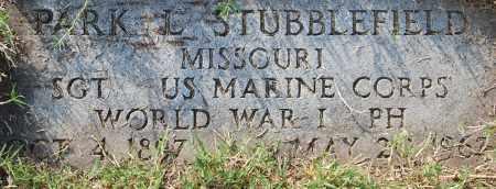 STUBBLEFIELD  (VETERAN WWI), PARK L - Craighead County, Arkansas | PARK L STUBBLEFIELD  (VETERAN WWI) - Arkansas Gravestone Photos