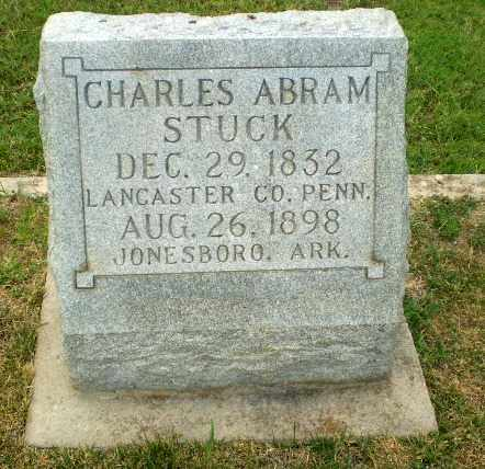 STUCK, CHARLES ABRAM - Craighead County, Arkansas | CHARLES ABRAM STUCK - Arkansas Gravestone Photos