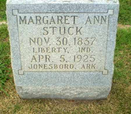 STUCK, MARGARET ANN - Craighead County, Arkansas | MARGARET ANN STUCK - Arkansas Gravestone Photos