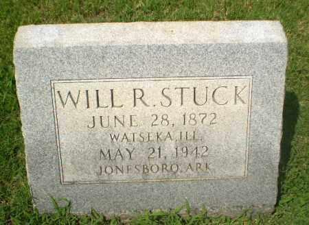 STUCK, WILL R - Craighead County, Arkansas   WILL R STUCK - Arkansas Gravestone Photos