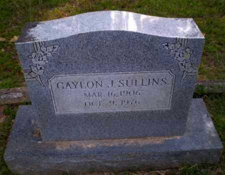 SULLINS, GAYLON J - Craighead County, Arkansas | GAYLON J SULLINS - Arkansas Gravestone Photos