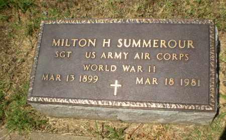 SUMMEROUR  (VETERAN WWII), MILTON H - Craighead County, Arkansas | MILTON H SUMMEROUR  (VETERAN WWII) - Arkansas Gravestone Photos