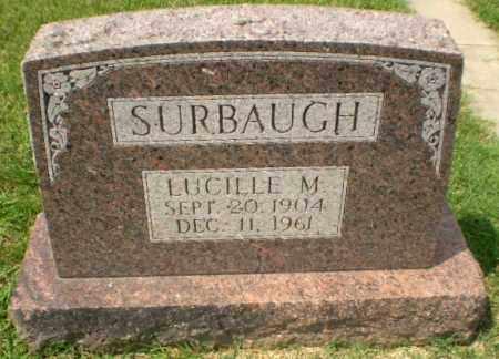 SURBAUGH, LUCILLE M - Craighead County, Arkansas | LUCILLE M SURBAUGH - Arkansas Gravestone Photos