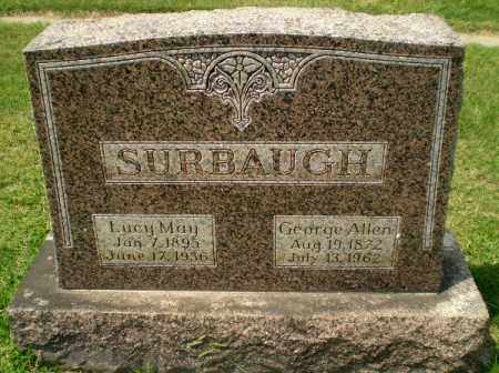 SURBAUGH, GEORGE ALLEN - Craighead County, Arkansas | GEORGE ALLEN SURBAUGH - Arkansas Gravestone Photos