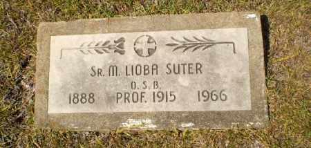 SUTER, SISTER M. LIOBA - Craighead County, Arkansas | SISTER M. LIOBA SUTER - Arkansas Gravestone Photos