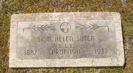 SUTER, SISTER M. HELEN - Craighead County, Arkansas | SISTER M. HELEN SUTER - Arkansas Gravestone Photos
