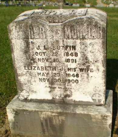 SUTFIN, ELZIABETH J - Craighead County, Arkansas | ELZIABETH J SUTFIN - Arkansas Gravestone Photos
