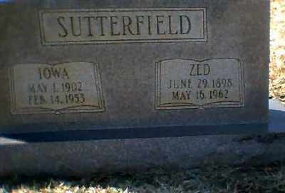 CORTER SUTTERFIELD, IOWA - Craighead County, Arkansas | IOWA CORTER SUTTERFIELD - Arkansas Gravestone Photos