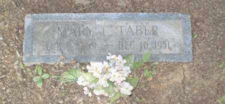 TABER, MARY E - Craighead County, Arkansas | MARY E TABER - Arkansas Gravestone Photos