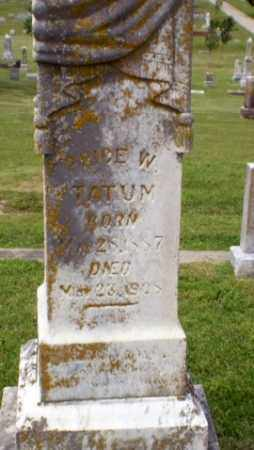 TATUM, PRICE W - Craighead County, Arkansas | PRICE W TATUM - Arkansas Gravestone Photos