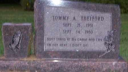THETFORD, TOMMY A. - Craighead County, Arkansas | TOMMY A. THETFORD - Arkansas Gravestone Photos