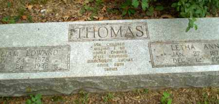 THOMAS, WILLIAM EDWARD - Craighead County, Arkansas | WILLIAM EDWARD THOMAS - Arkansas Gravestone Photos