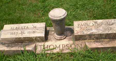 THOMPSON, ALBERTA M - Craighead County, Arkansas | ALBERTA M THOMPSON - Arkansas Gravestone Photos