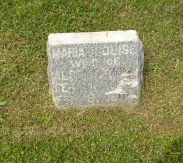 THORN, MARIA LOUISE - Craighead County, Arkansas | MARIA LOUISE THORN - Arkansas Gravestone Photos