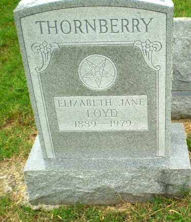 THORNBERRY, ELIZABETH JANE - Craighead County, Arkansas | ELIZABETH JANE THORNBERRY - Arkansas Gravestone Photos