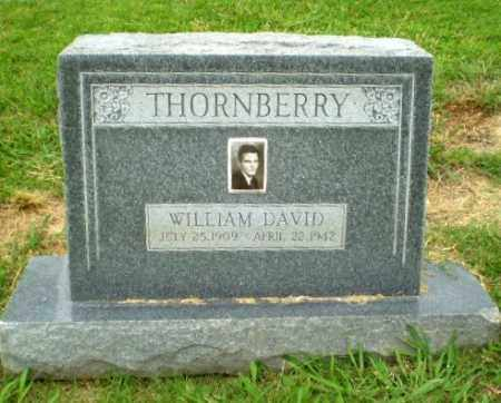THORNBERRY, WILLIAM DAVID - Craighead County, Arkansas | WILLIAM DAVID THORNBERRY - Arkansas Gravestone Photos