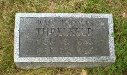THRELKELD, WM. THOMAS - Craighead County, Arkansas   WM. THOMAS THRELKELD - Arkansas Gravestone Photos