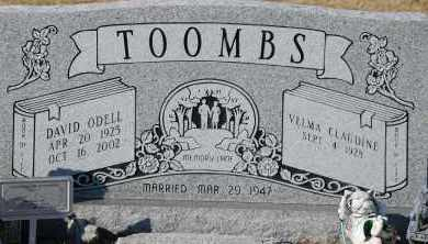 TOOMBS, DAVID ODELL - Craighead County, Arkansas | DAVID ODELL TOOMBS - Arkansas Gravestone Photos