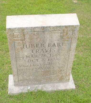 TRAVIS, JUBER EARL - Craighead County, Arkansas | JUBER EARL TRAVIS - Arkansas Gravestone Photos