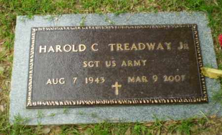 TREADWAY, JR (VETERAN), HAROLD C - Craighead County, Arkansas | HAROLD C TREADWAY, JR (VETERAN) - Arkansas Gravestone Photos