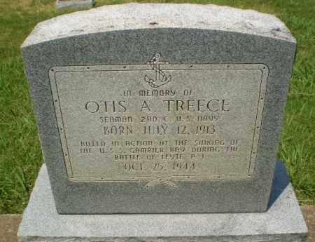 TREECE  (VETERAN WWII, KIA), OTIS A - Craighead County, Arkansas   OTIS A TREECE  (VETERAN WWII, KIA) - Arkansas Gravestone Photos