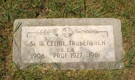 TRUBENBACH, SISTER M.CELINE - Craighead County, Arkansas | SISTER M.CELINE TRUBENBACH - Arkansas Gravestone Photos