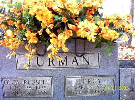 TURMAN, LEROY - Craighead County, Arkansas | LEROY TURMAN - Arkansas Gravestone Photos