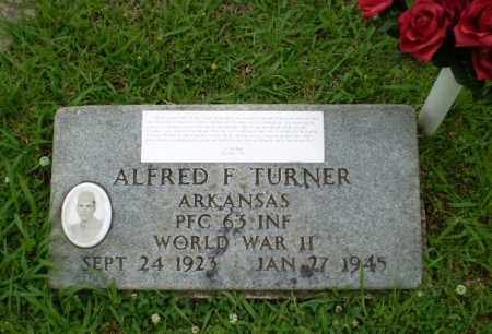 TURNER  (VETERAN WWII), ALFRED F - Craighead County, Arkansas | ALFRED F TURNER  (VETERAN WWII) - Arkansas Gravestone Photos